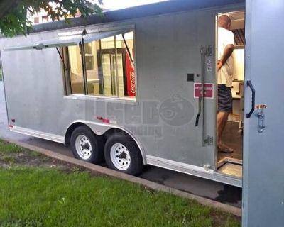 Very Clean 2012 24' Enclosed MIT Food Concession Trailer / Mobile Kitchen Unit