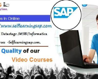 SAP/Hadoop/IBM Datastage /MSBI/Informatica  Online Video Courses  -Selflearningsap.com.