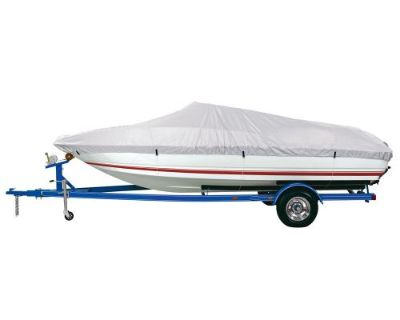 D Bc1301bmc Reflective Polyester Boat Cover Model B 14-16' V Hull