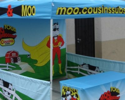 Vendor tents & table covers Popular Distributor in California