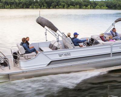 2022 SunCatcher ELITE 326 SL Pontoon Boats Kenner, LA