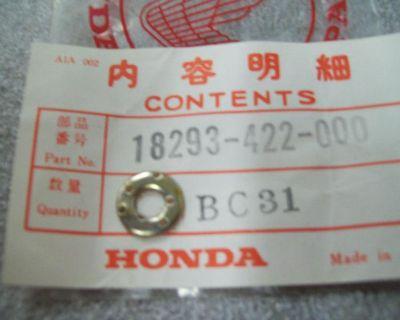 Genuine Honda Protector Gasket Ft500 Trx250 Gl1500 & More 18293-422-000 New Nos