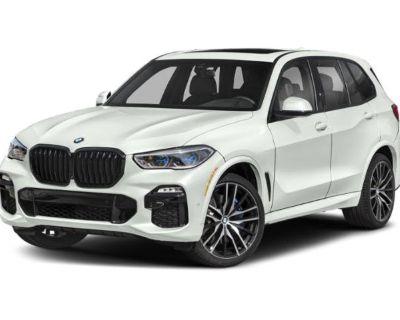 New 2022 BMW X5 M50i AWD SUV