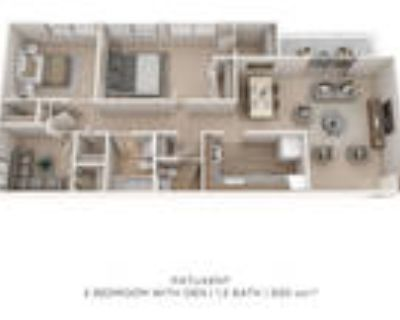 Villages at Montpelier Apartment Homes - 2 Bedroom 1.5 Bath Large