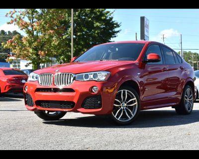 2017 BMW X4 XDrive28i 4D SAC M-PACKAGE