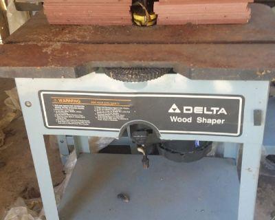 Delta Wood Shapers( read description)
