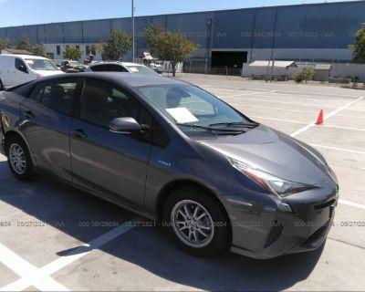 Salvage Gray 2018 Toyota Prius