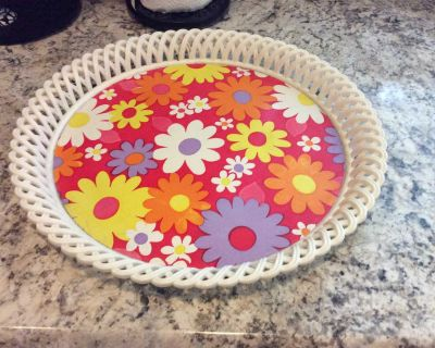 Round Serving Tray- Today Only