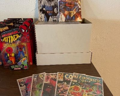 Estate Sale In Carson - Christmas, Comics, Dolls, Vintage Action Figures, Toy Trucks & Much More!