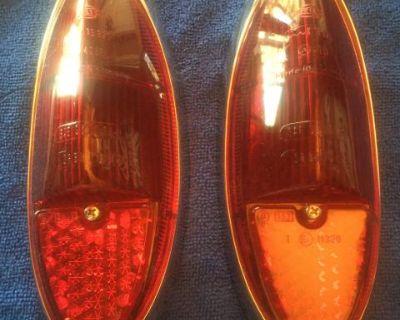 NOS German taillight lens, 60-69 ghia