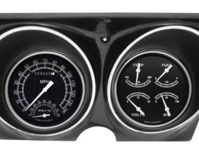 Classic Instruments 67 68 Chevy Camaro Package Gauge Cluster Dash Bezel