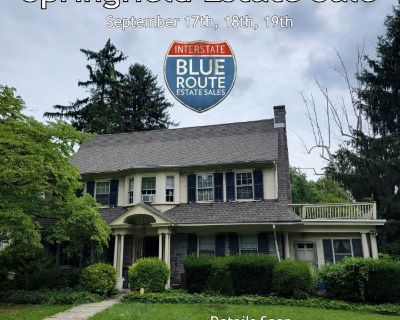 BLUE ROUTE SALES - Contents of Springfield Estate