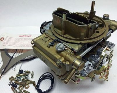 New 1848-1 Classic Holley 465 Cfm Electric Choke Conversion 4 Barrel Carburetor
