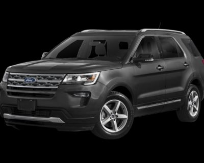 Pre-Owned 2018 Ford Explorer Sport With Navigation & 4WD