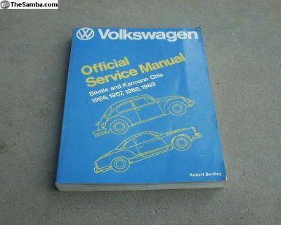 Bentley VW repair manual 1966 - 1969