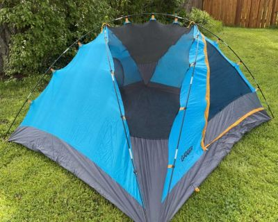 Camping Tent (4 person) - approx. 7.5ft x 8.5ft