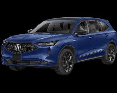New 2022 Acura MDX w/A-Spec Package