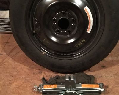space saver tire & jack for Nissan