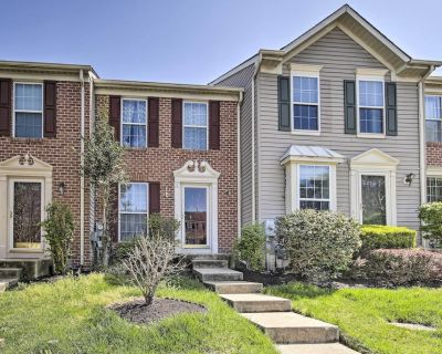 NEW! Lovely Laurel Townhome w/ Deck + Pool Access! - Russett