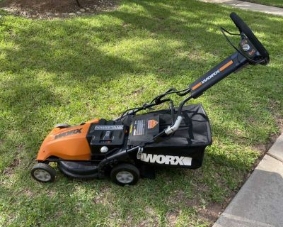 WORX Battery Powered 36v Lawn Mower