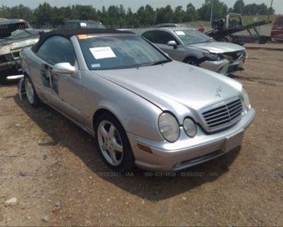 Salvage Silver 2003 Mercedes-benz Clk-class