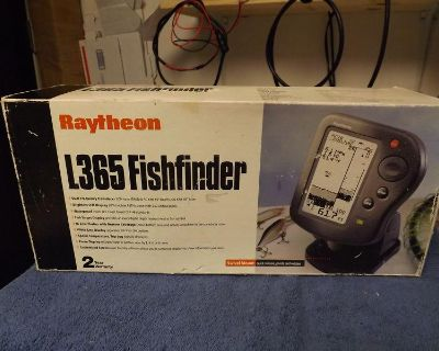 Raytheon / Raymarine L-365 Fishfinder Bronze Thru Hull Transducer Stk3226