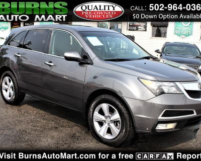 Used 2012 Acura MDX SH-AWD 4dr w/Advance/Entertainment