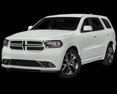 Pre-Owned 2015 Dodge Durango R/T With Navigation & AWD