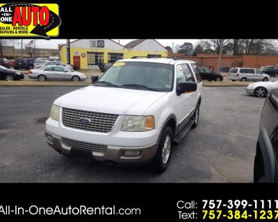 2003 Ford Expedition 5.4L Eddie Bauer 4WD