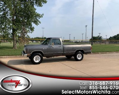Used 1986 Dodge W250 Reg. Cab 8-ft. Bed 4WD