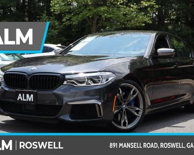 Pre-Owned 2020 BMW 5 Series M550i xDrive With Navigation & AWD
