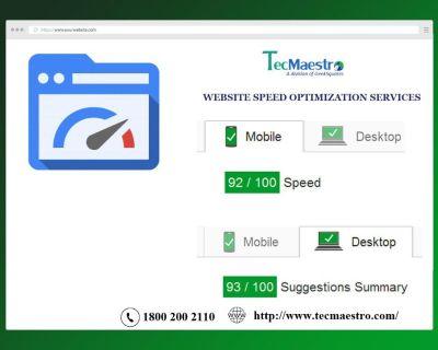 Website Page Speed Optimization Services Delhi