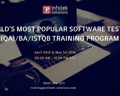 Career Oriented Software Testing/QA/BA/ISTQB Certification Training