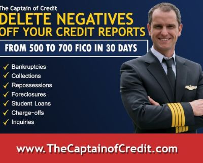 Remove ALL Negative Items from your Credit Reports in DAYS