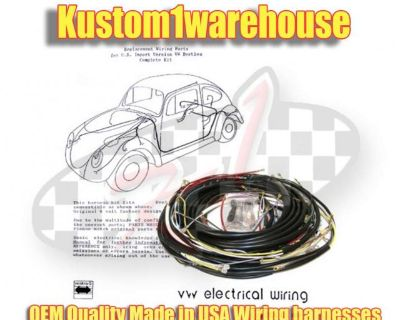 Made in USA replacement wiring wire harness for VW