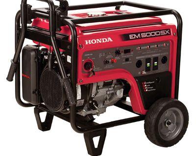 Honda Power Equipment EM5000S Generators Sarasota, FL