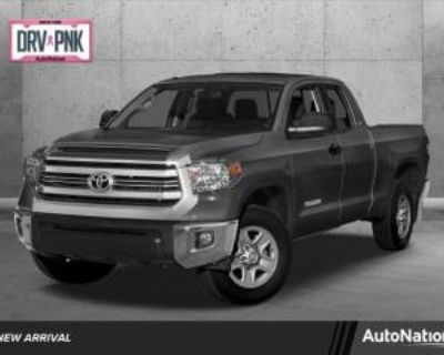 2017 Toyota Tundra SR5 Double Cab 6.5' Bed Flex Fuel 5.7L V8 RWD