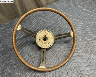 Wood VDM Steering Wheel