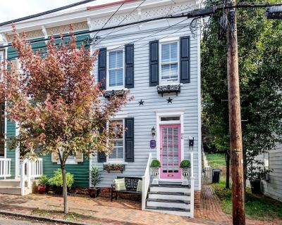 Renovated Historic Home located downtown with parking - Walk everywhere ! - Historic District
