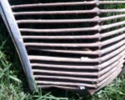 1936 Lincoln zephyr grille will fit a 37