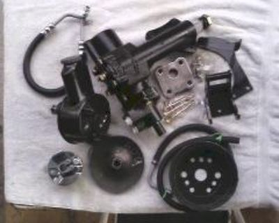 1955/1957 Chevy Power Steering Conversion Kit-warranty