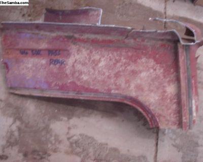 Pass rear cargo floor section 1966 Squareback