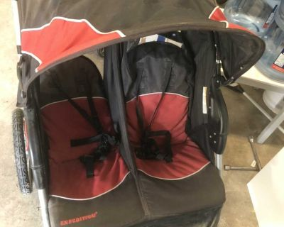 Bandy trend double stroller