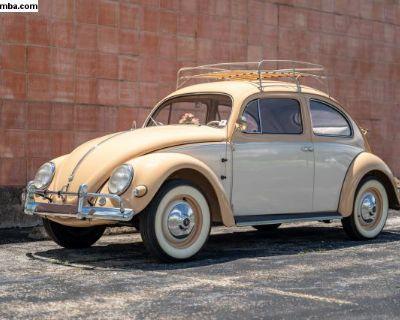 1955 Volkswagen Type 1 Beetle