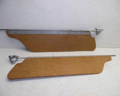 63 64 65 1963 1964 1965 Ford Fairlane Sun Visors Sunvisors Pivots Brackets Rods
