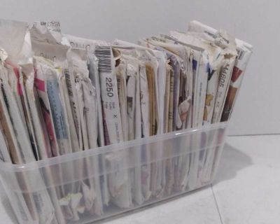 Mixed Lot of Vintage Dress Patterns