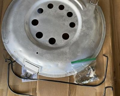 Free! Spare tire, holder, cover complete hardware