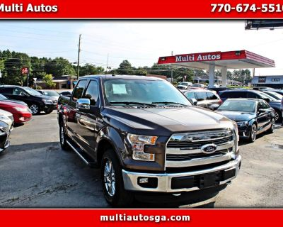 Used 2016 Ford F-150 Lariat SuperCrew 5.5-ft. Bed 4WD