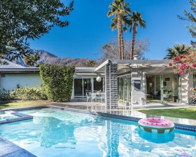 The Elrod   Mid Century Mountain View Pool & Spa Home - Racquet Club Estates