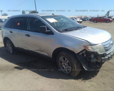 Salvage Silver 2010 Ford Edge